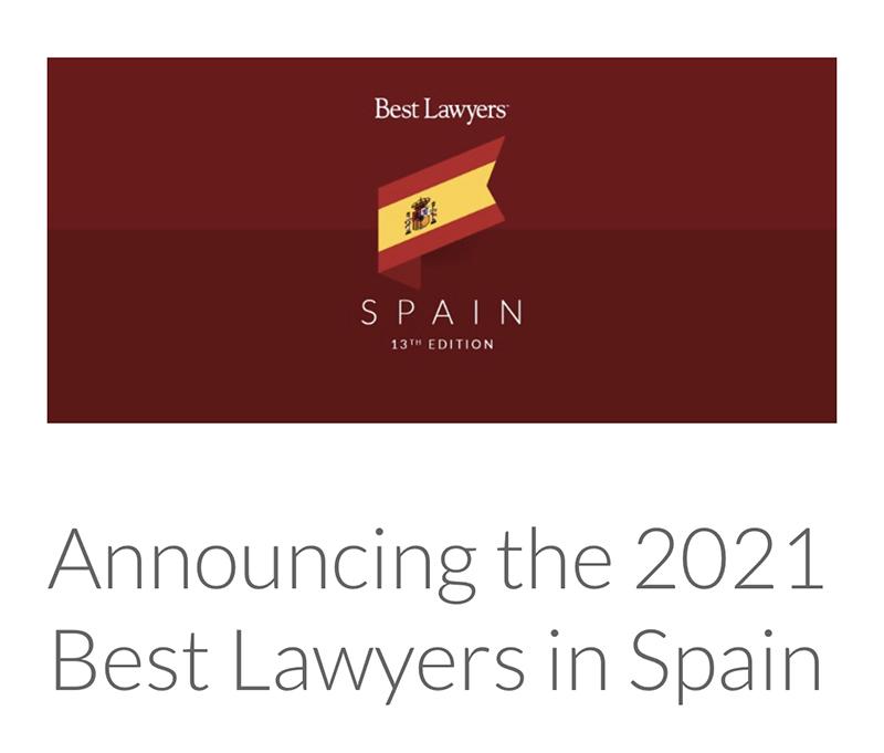 Albares Abogados en Best Lawyers 2021