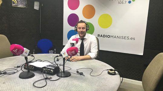 Albares Abogados Manises en Radio Municipal Manises