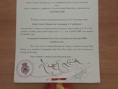 Albares Abogados, premiado por Instituto Alfonso XIII