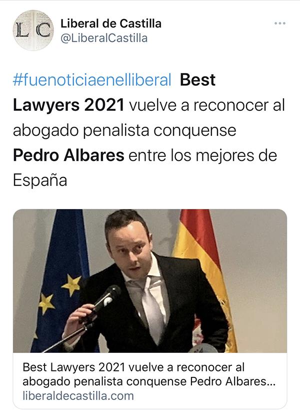 Albares en El Liberal de Castilla