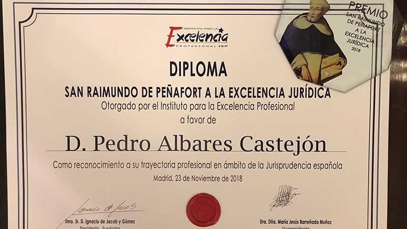 Premio San Raimundo de Peñafort a la Excelencia Jurídica