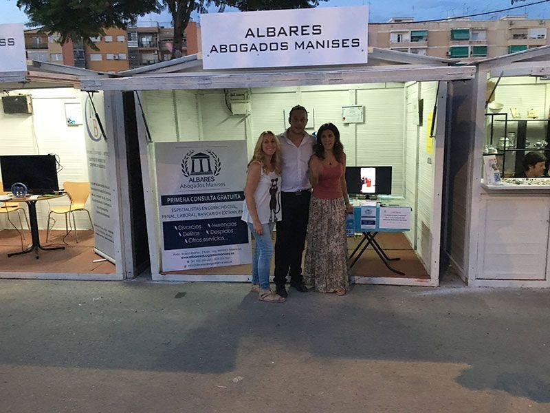 Albares Abogados Manises en el Comerç i Tapes Festival