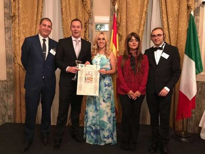 Albares Abogados, en la entrega del International Awards Talent And Professionals
