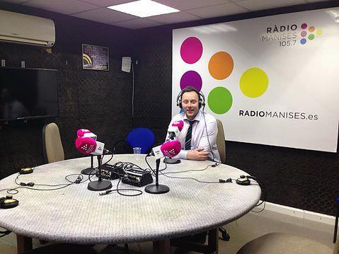 Albares Abogados en Radio Manises