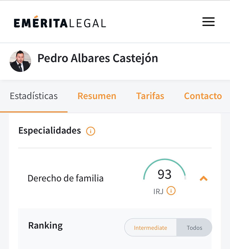 Ranking Emérita Legal