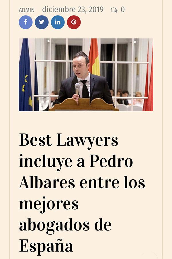 Pedro Albares en Expansión y Negocios