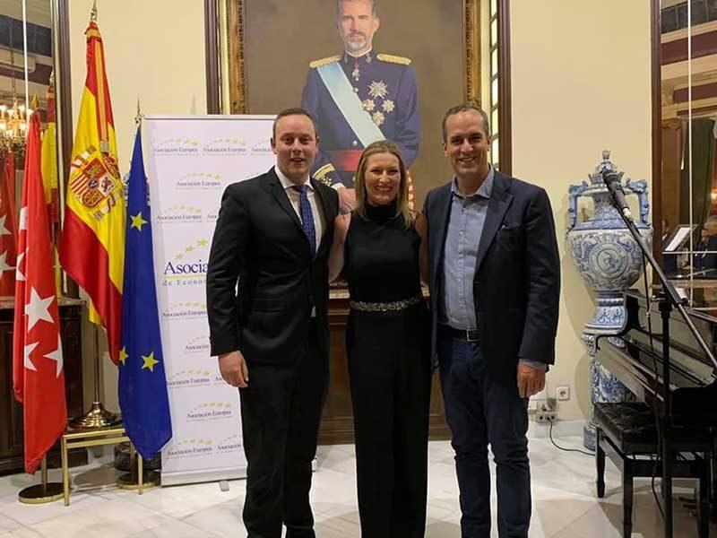 Pedro Albares, Ana N. Escribá Pérez y Santi Acosta
