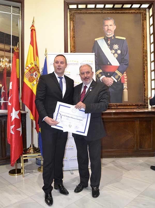 Pedro Albares y José Luis Barceló